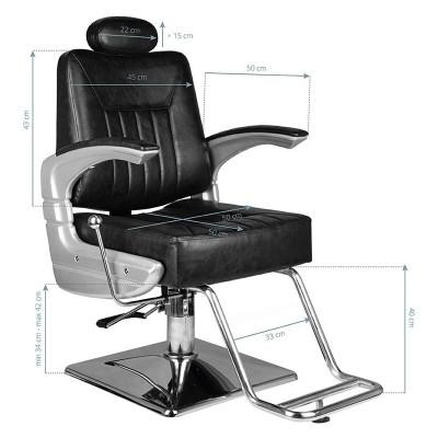 Професионален бръснарски стол