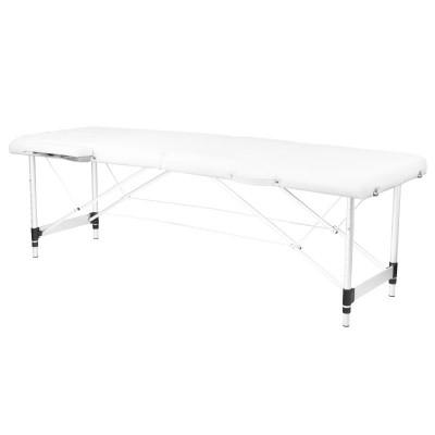 Сгъваема масажна кушетка алуминиева бяла