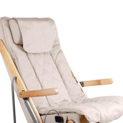 Сгъваем масажен стол - бежов