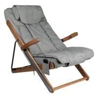 Сгъваем масажен стол - сив