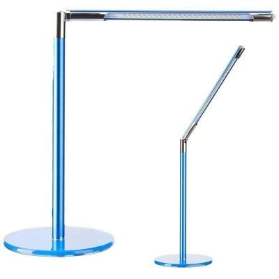 Синя лед лампа за бюро