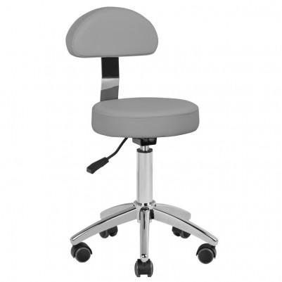 Сив козметичен стол