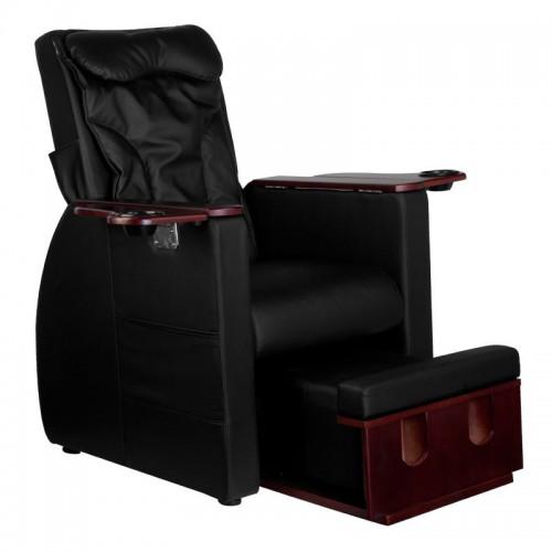 SPA стол за педикюр черен