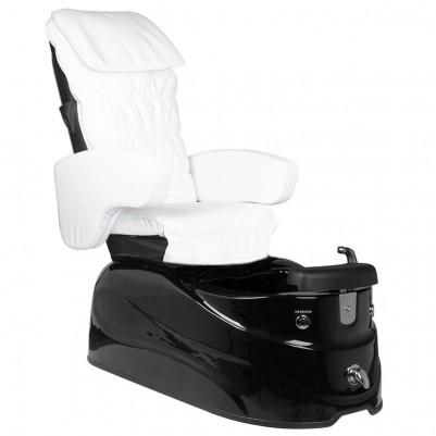 SPA стол за педикюр черно-бял