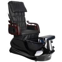 SPA стол за педикюр с масаж – черна основа