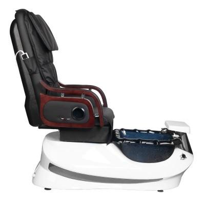 SPA стол за педикюр с масаж черно-бял