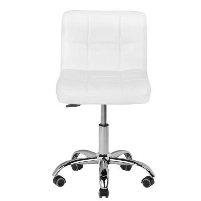 Стилен бял козметичен стол