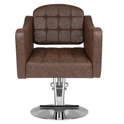Стилен кафяв фризьорски стол