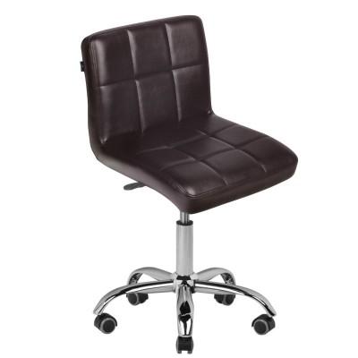 Стилен кафяв козметичен стол