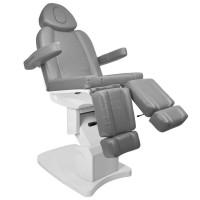 Стилен козметичен електрически стол Azzurro сив