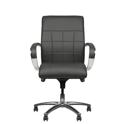 Стилен сив козметичен стол