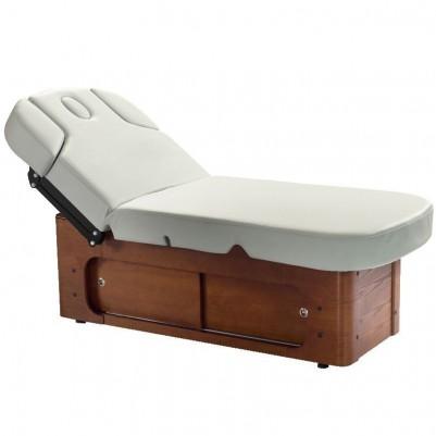 Стилна масажна SPA кушетка сива