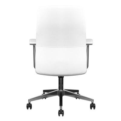 Удобен бял козметичен стол Rico