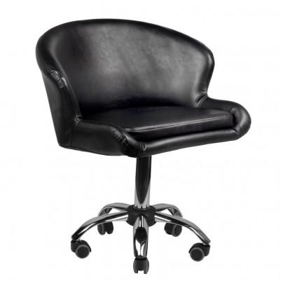 Удобен черен козметичен стол