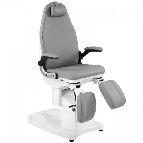 Удобен козметичен електрически стол Azzurro сив