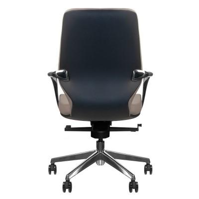 Удобен сив козметичен стол