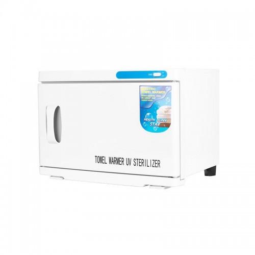 UV стерилизатор с подгряване за кърпи 16 л бял