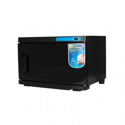 Уред за затопляне на кърпи с UV стерилизатор - 16л черен