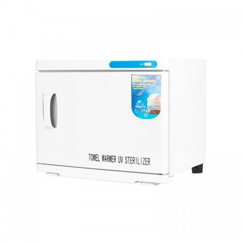 Уред за затопляне на кърпи с UV стерилизатор - 23л бял