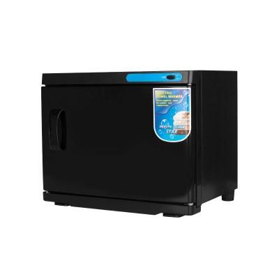 UV стерилизатор с подгряване за кърпи 23 л черен