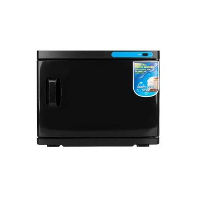 Уред за затопляне на кърпи с UV стерилизатор - 23л черен