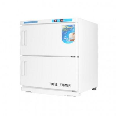 Уред за затопляне на кърпи с UV стерилизатор - 32л бял