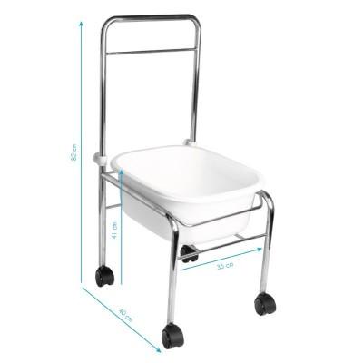 Ваничка за педикюр на стойка с масажор с подгряване
