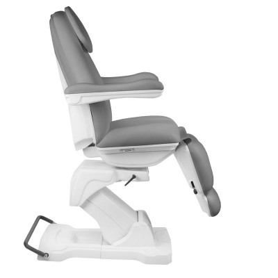 Въртящ се козметичен стол сив