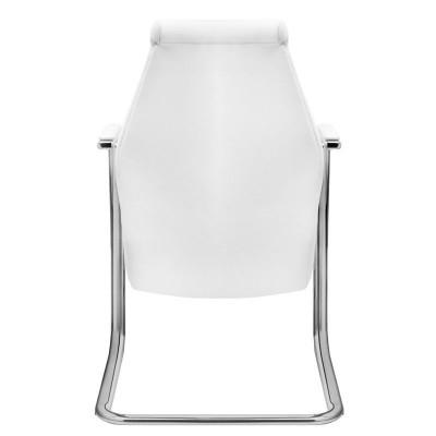 Висок бял козметичен стол